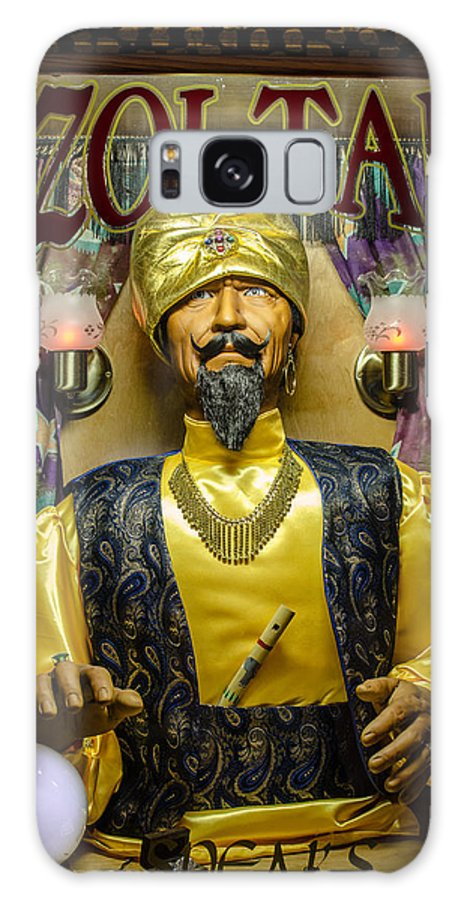 Zoltar Galaxy S8 Case featuring the photograph The Great Zoltar by David Morefield