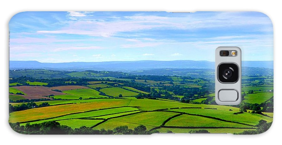 Wales Galaxy S8 Case featuring the photograph The Green Green Grass Of Home by Andrew Read
