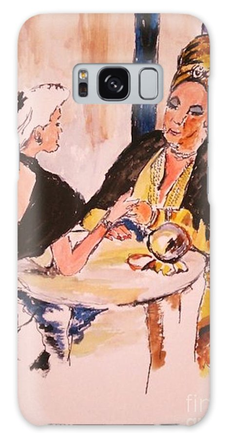 Gypsy Galaxy S8 Case featuring the painting The Gyspy by Helena Bebirian