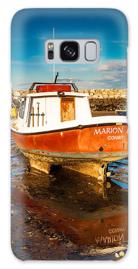 2012 Galaxy S8 Case featuring the photograph The Harbour by Christine Smart