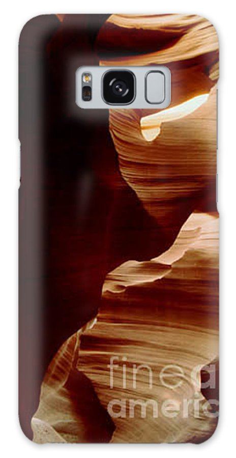 Landscape Galaxy S8 Case featuring the photograph The Heart Of Antelope Canyon by Kathy McClure