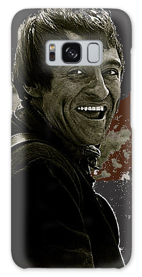 The High Chaparral Henry Darrow Publicity Photo Number 2 Toning Color Added Galaxy S8 Case featuring the photograph The High Chaparral Henry Darrow Publicity Photo Number 2 by David Lee Guss