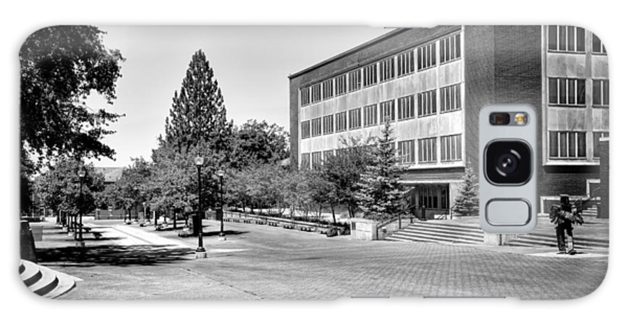 The Holland Library Galaxy S8 Case featuring the photograph The Holland Library - Pullman Washington by David Patterson