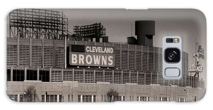 Cleveland Galaxy Case featuring the photograph The Hometeams by Kenneth Krolikowski
