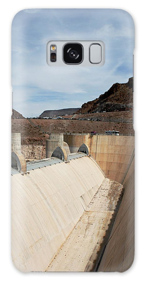 Las Vegas Galaxy S8 Case featuring the photograph The Hoover Dam by Cecelia Helwig