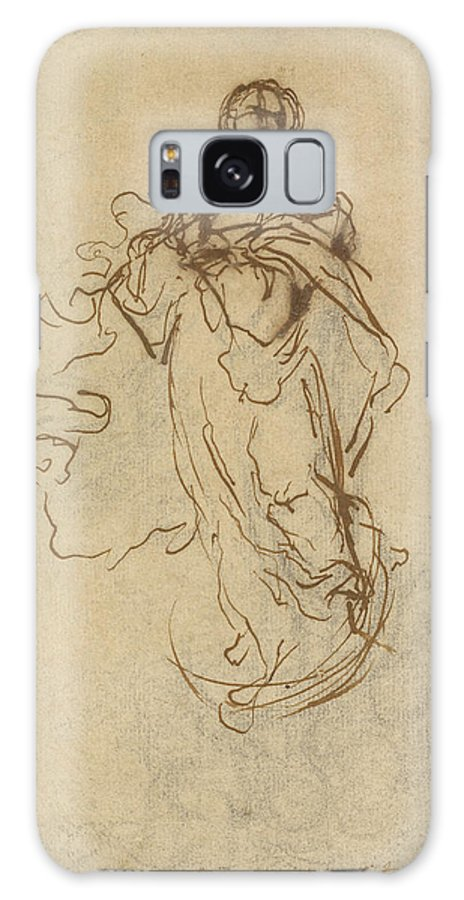 Immaculate Galaxy S8 Case featuring the drawing The Immaculate Conception Bartolomé Esteban Murillo by Litz Collection