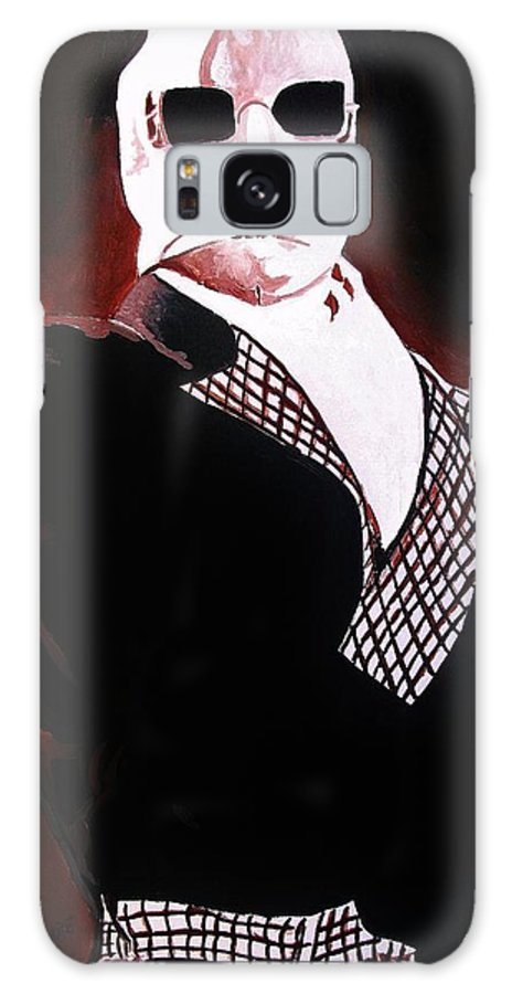 Invisible Man Claude Raines Universal Horror Movie Monster Galaxy S8 Case featuring the painting The Invisible Man by Jeremy Moore