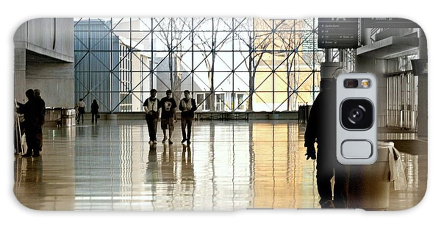 Jacob K. Javits Center Galaxy S8 Case featuring the photograph The Janitor by Diana Angstadt