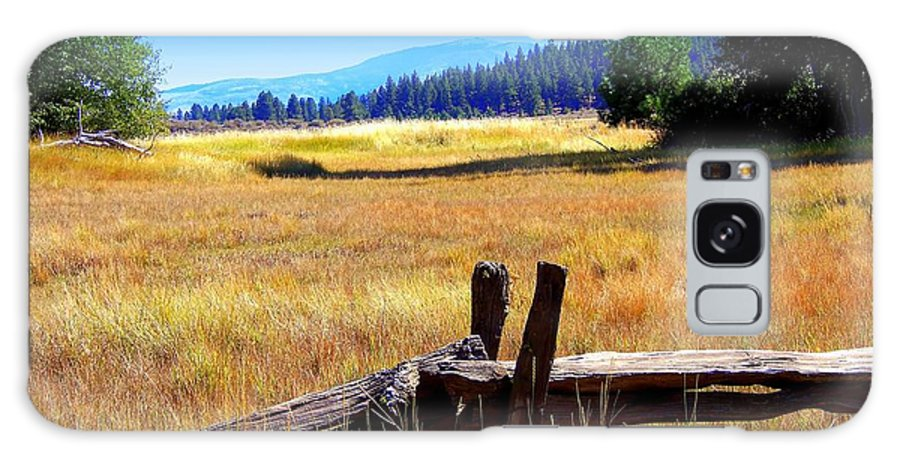 Acrylic Prints Galaxy S8 Case featuring the photograph The Land With A View by Bobbee Rickard