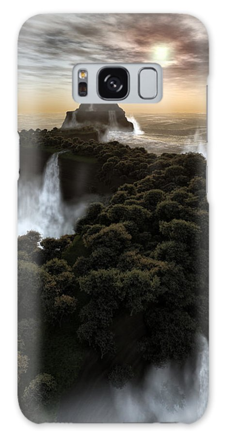 Fantasy Galaxy S8 Case featuring the digital art The Last Colony by Richard Rizzo