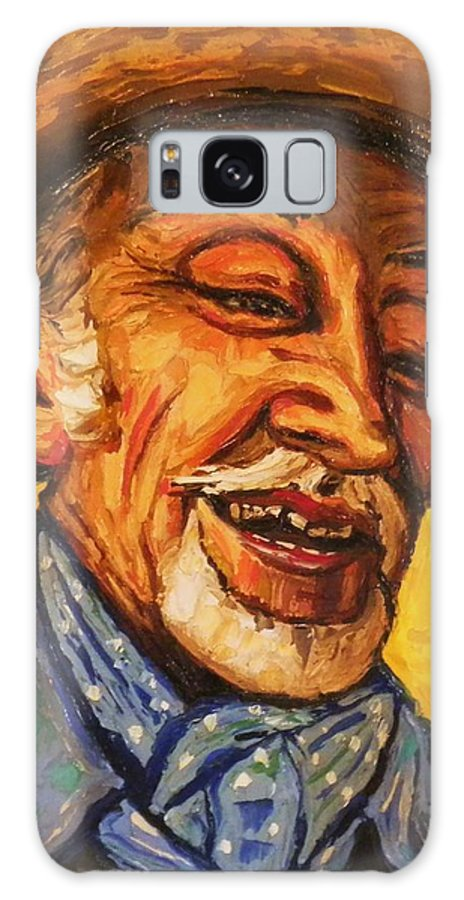 Galaxy S8 Case featuring the painting The Laughing Cavalier by Raffi Jacobian