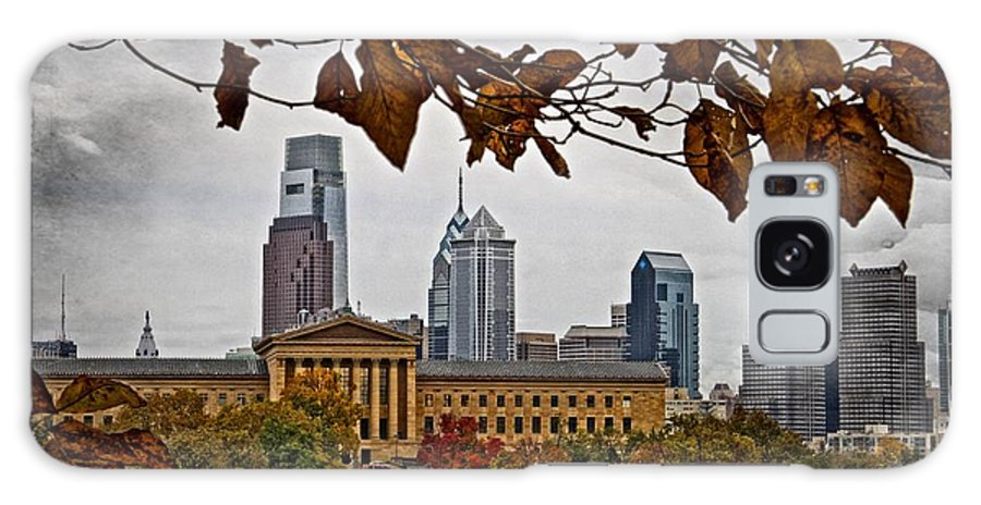 Art Museum Galaxy S8 Case featuring the photograph The Leaves Of Philly by Alice Gipson