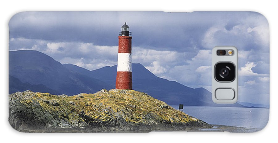 Lighthouse Galaxy S8 Case featuring the photograph The Lighthouse At The End Of The World by James Brunker