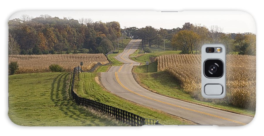 Kane County Galaxy S8 Case featuring the photograph The Long And Winding Road by Eric Mace