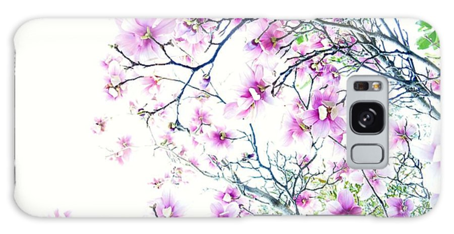 Magnolia Galaxy S8 Case featuring the photograph The Magnolia Fades by Cindy Rohde
