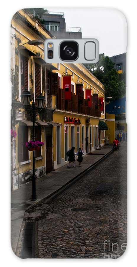 Macau Galaxy S8 Case featuring the photograph The Many Faces Of Macau by Venetta Archer