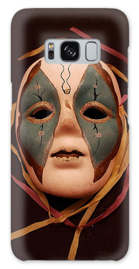 Impressionism.mask Galaxy S8 Case featuring the photograph The Mask by Tom Snow