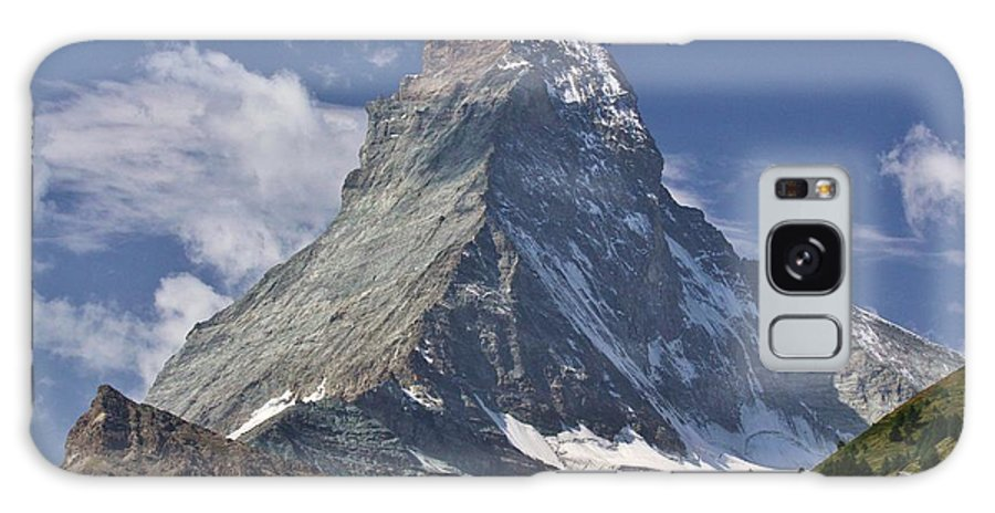 Switzerland Galaxy S8 Case featuring the photograph The Matterhorn by David Broome