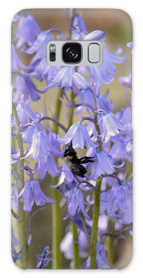 The Milky Bellflower Galaxy S8 Case featuring the photograph The Milky Bellflower by Maria Urso