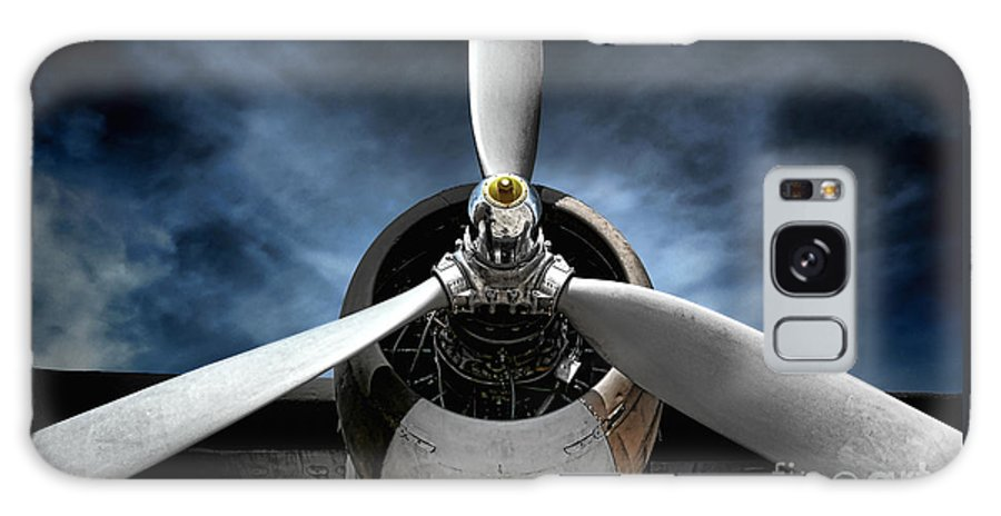Plane Galaxy Case featuring the photograph The Mission by Olivier Le Queinec
