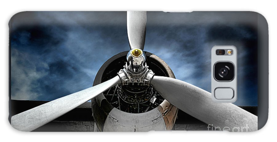 Plane Galaxy S8 Case featuring the photograph The Mission by Olivier Le Queinec