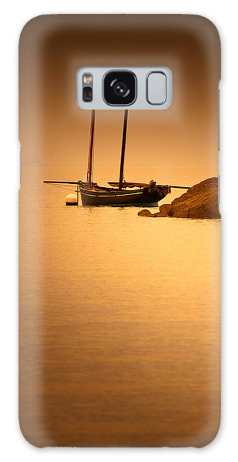 Loriental Galaxy S8 Case featuring the photograph The Mont Saint-michel Bay At Sunset by Loriental Photography
