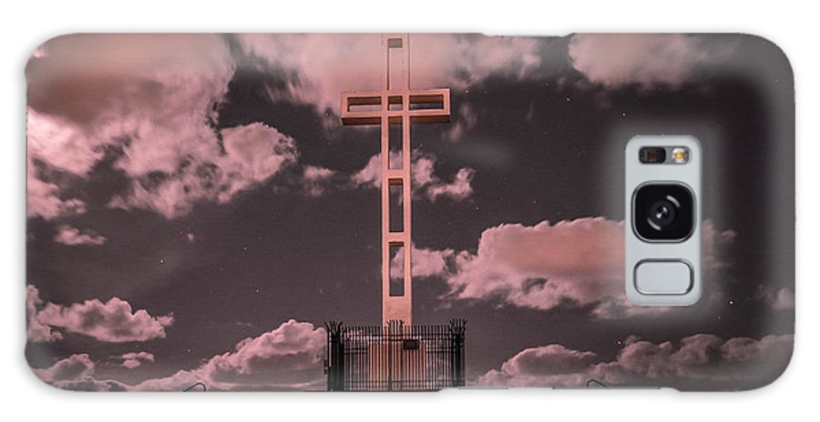 Cross Galaxy S8 Case featuring the photograph The Mt. Soledad Cross - Part 1 by Daniel R Penola III