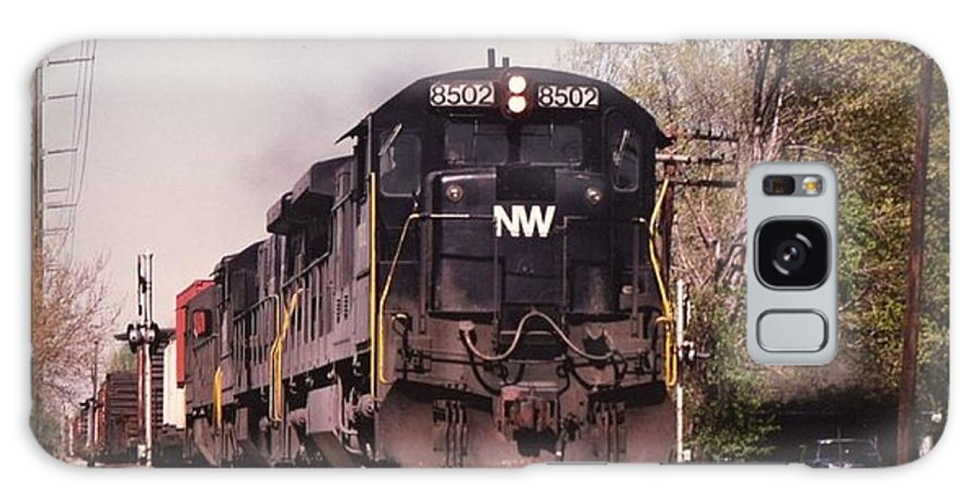 Nw Railroad Prints Galaxy S8 Case featuring the photograph       8502 by R A W M