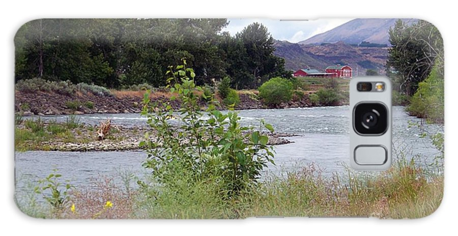 Naches River Galaxy S8 Case featuring the photograph The Naches River by Charles Robinson
