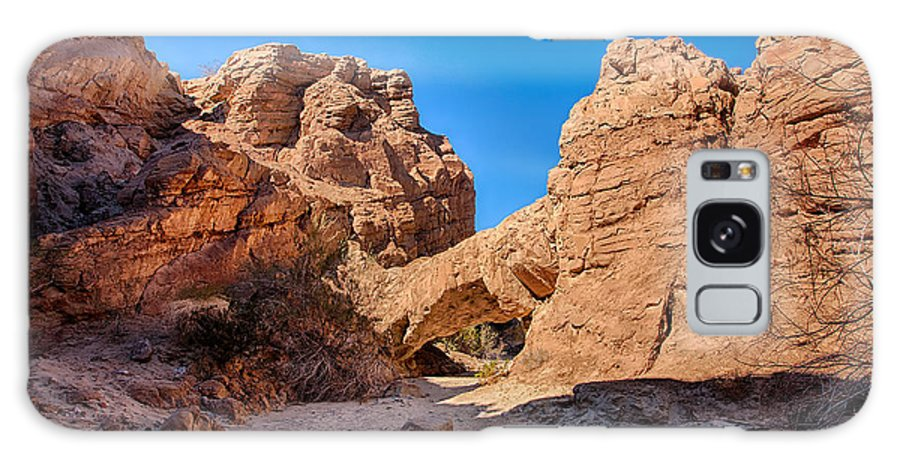Anza-borrego Desert Galaxy S8 Case featuring the photograph The Natureal Bridge by Peter Tellone