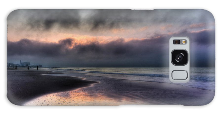 Ocean City Galaxy S8 Case featuring the photograph The Oc At Dawn by Lori Deiter