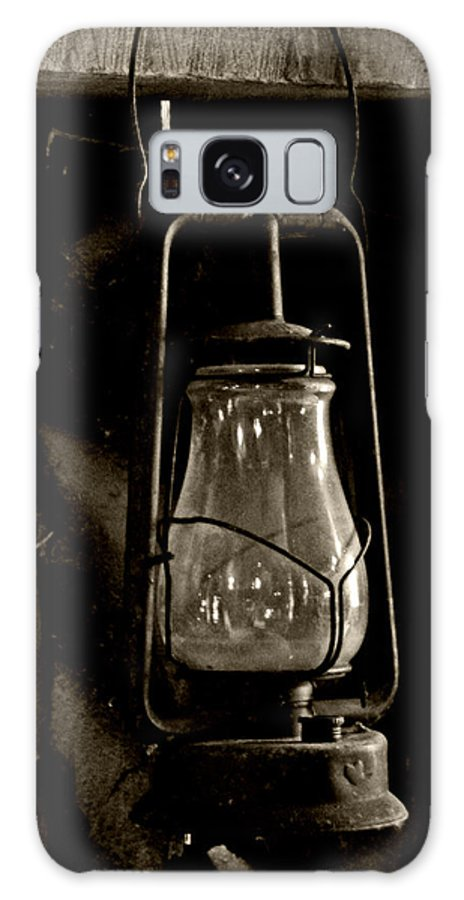 Barn Galaxy S8 Case featuring the photograph The Old Barn Lantern by Heather Allen
