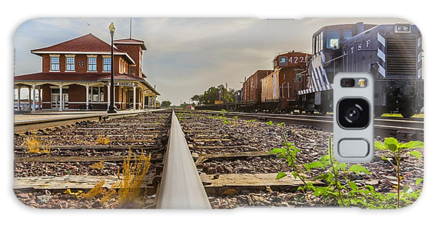 Train Galaxy S8 Case featuring the photograph The Old Line by Michael Anglin
