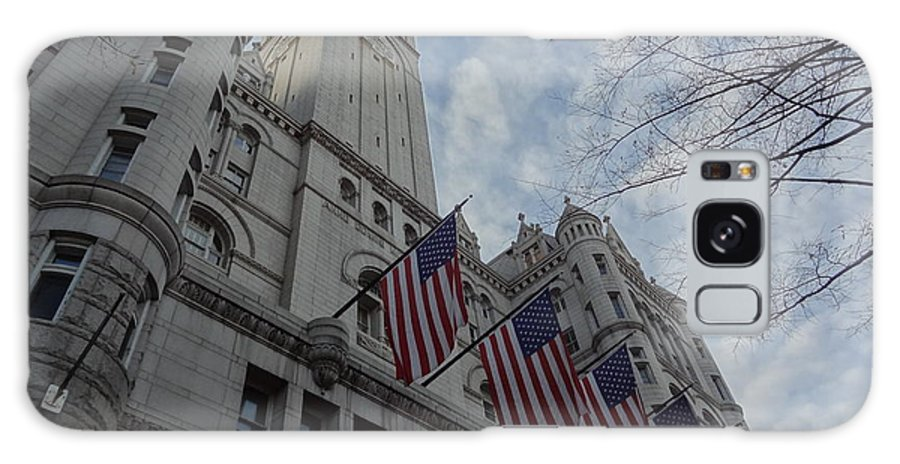 The Old Post Office Galaxy S8 Case featuring the photograph The Old Post Office by Christopher Kerby