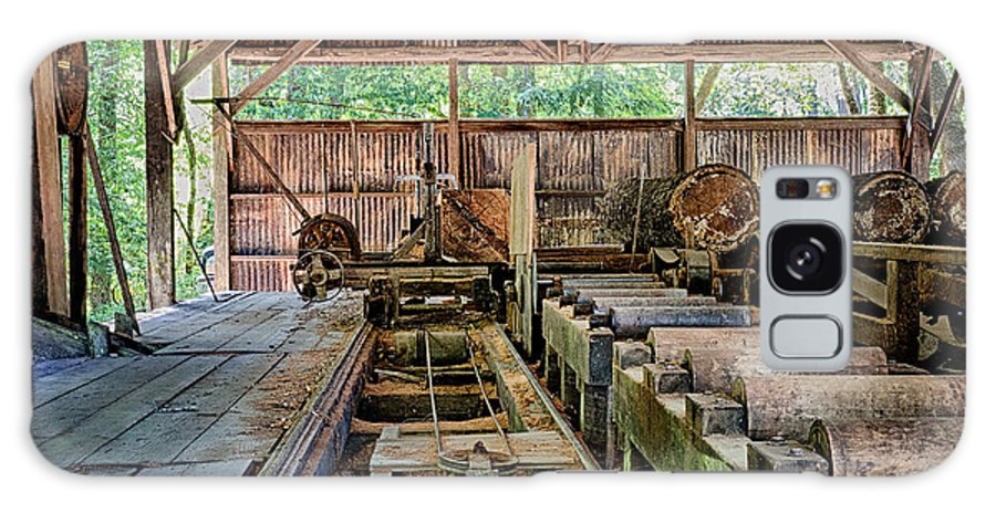 Vintage Galaxy S8 Case featuring the photograph The Old Sawmill by Betty Depee