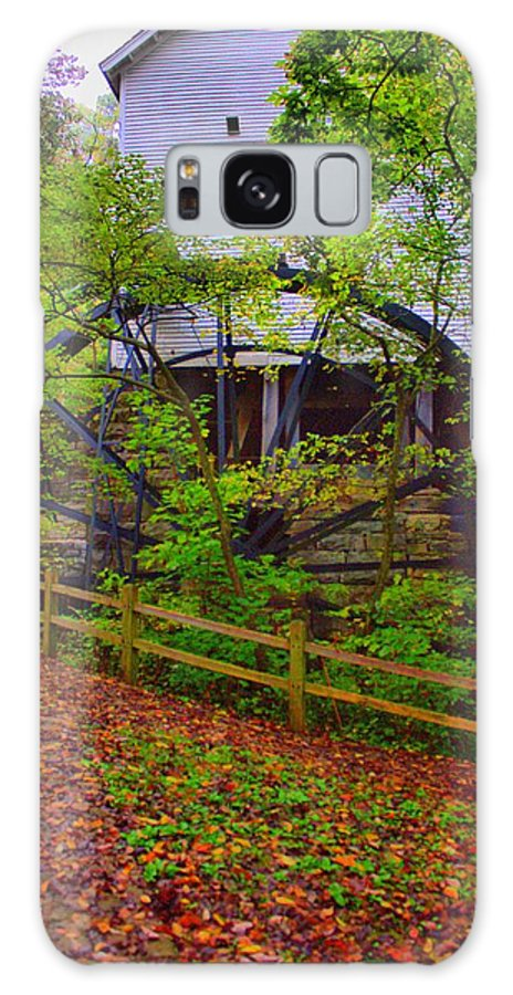 Grist Mill Galaxy S8 Case featuring the photograph The Ole Mill by Cheryl Frischkorn