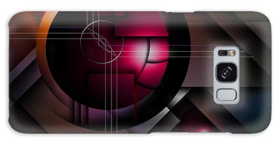 Brightly Galaxy S8 Case featuring the digital art The Operative Word by Franziskus Pfleghart