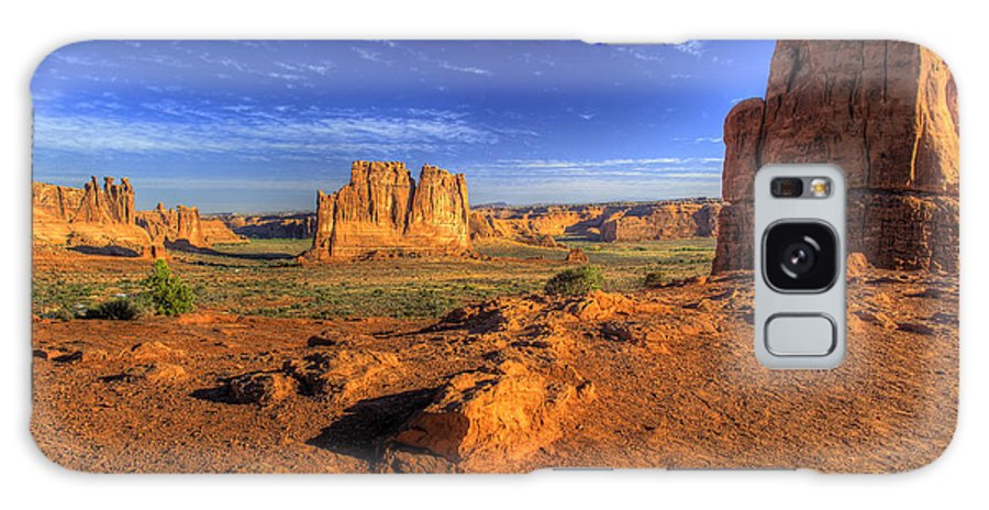 Arches National Park Galaxy S8 Case featuring the photograph The Organ-2 by Fred Adsit