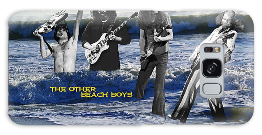 Rock Images Galaxy S8 Case featuring the photograph The Other Beach Boys by Ben Upham III