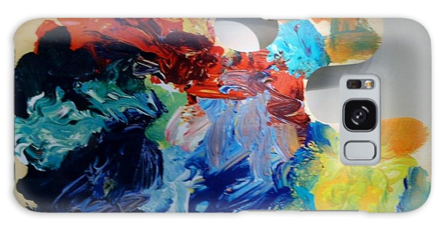 Abstract Galaxy S8 Case featuring the photograph The Palet by Rob Hans