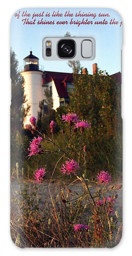 Lighthouse Galaxy S8 Case featuring the photograph The Perfect Day by Stephen Campanella