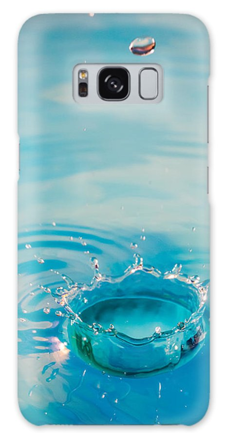 Water Galaxy S8 Case featuring the photograph The Perfect Splash by Andy Spliethof