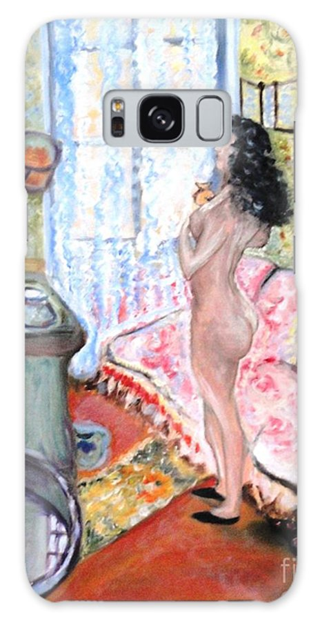 Art Collectors Galaxy S8 Case featuring the painting The Perfumed Room by Helena Bebirian