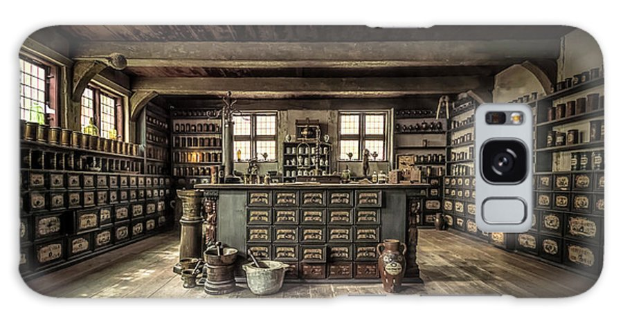 Store Galaxy S8 Case featuring the photograph The Pharmacy by Ole Moberg Steffensen