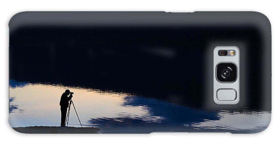 Montana Galaxy S8 Case featuring the photograph The Photographer by Aaron Aldrich