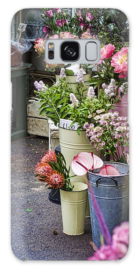 Florist Galaxy S8 Case featuring the photograph The Pink Section by Heather Applegate