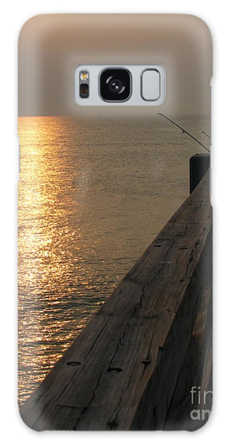 Art For The Wall...patzer Photography Galaxy S8 Case featuring the photograph The Pole by Greg Patzer