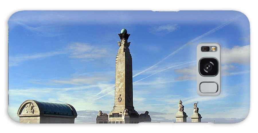 War Memorial Southsea Galaxy S8 Case featuring the photograph The Portsmouth Naval Memorial Southsea by Terri Waters