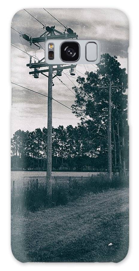 Nature Galaxy S8 Case featuring the photograph The Power Lines by Howard Salmon