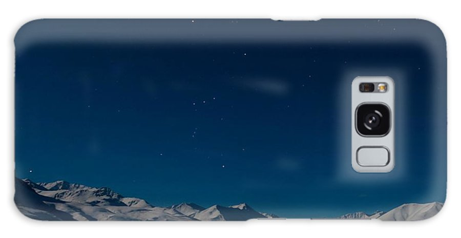 Dempster Highway Galaxy S8 Case featuring the photograph The Presence Of Absolute Silence by Priska Wettstein